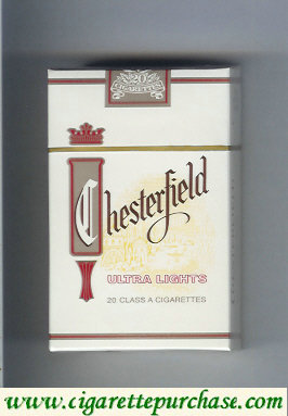 Discount Chesterfield Ultra Lights cigarettes