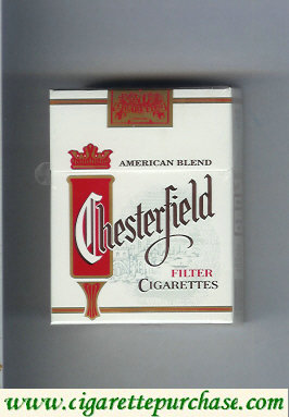 Discount Chesterfield cigarettes American Blend Filter