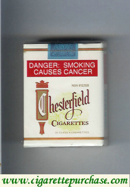 Discount Chesterfield cigarettes Non-Filter