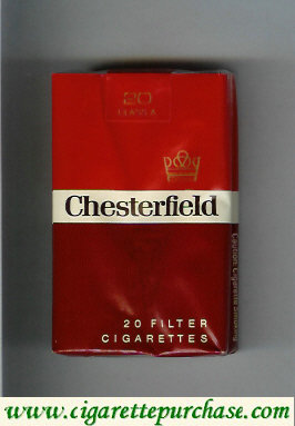 Discount Chesterfield cigarettes filter