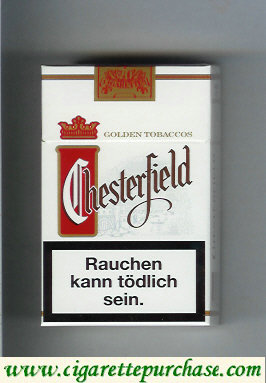 Chesterfield cigarettes full flavor Golden Tobaccos