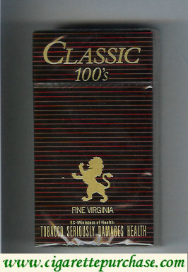 Discount Classic 100s Fine Virginia cigarettes