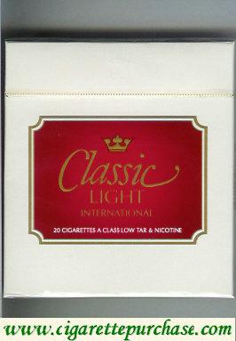 Discount Classic Light International cigarettes