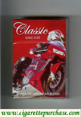 Classic cigarettes king size Superior American Blend