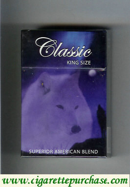 Classic cigarettes Superior American Blend king size