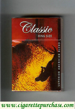 Discount Classic king size cigarettes Superior American Blend