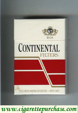 Continental filters cigarettes