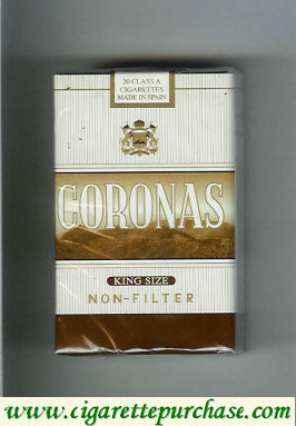 Discount Coronas Non-Filter cigarettes king size