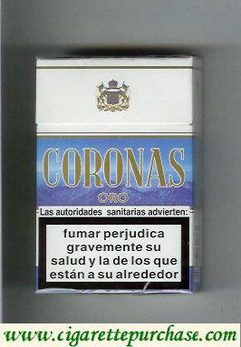 Discount Coronas Oro cigarettes