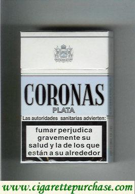 Discount Coronas Plata cigarettes