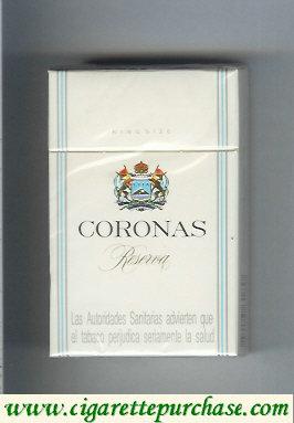 Discount Coronas Reserva cigarettes