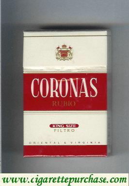 Discount Coronas Rubio cigarettes