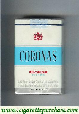 Discount Coronas king size filtro cigarettes