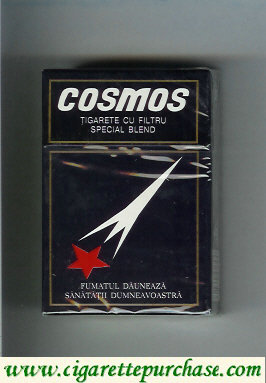 Cosmos special blend cigarettes