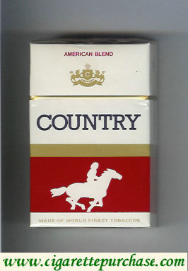 Country American Blend cigarettes