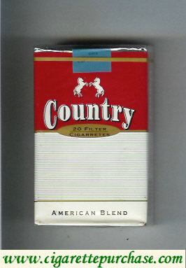 Country American Blend filter cigarettes