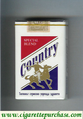 Country Special Blend cigarettes