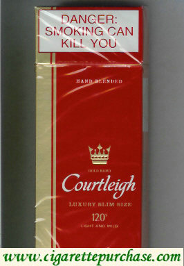 Courtleigh 120s cigarettes