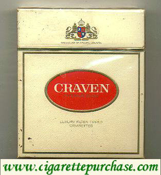 CRAVEN long cigarettes