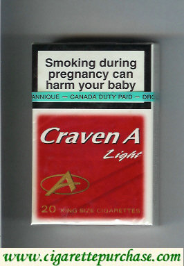 Discount Craven A Light cigarettes