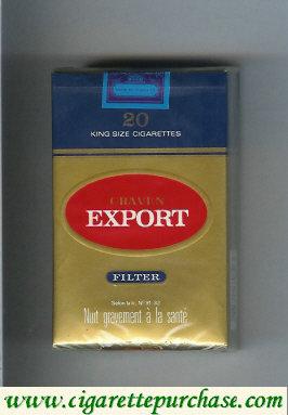 Discount Craven Export filter cigarettes
