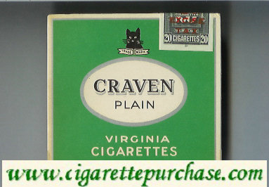 Discount Craven Plain Virginia Cigarettes