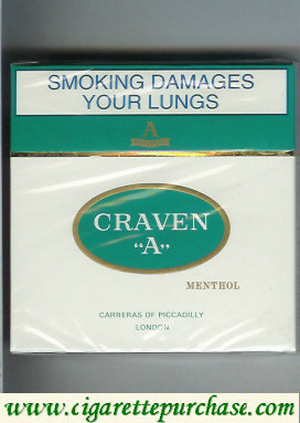 Discount Craven A Menthol 30 cigarettes