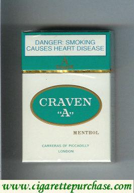 Discount Craven A Menthol cigarettes