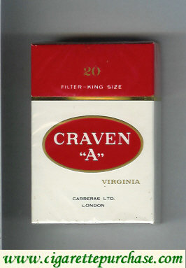 Craven A Virginia Cigarettes