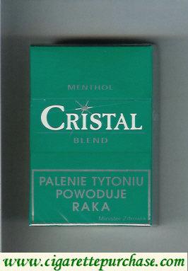 Discount Cristal Menthol Blend cigarettes