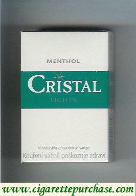 Discount Cristal Menthol Lights cigarettes