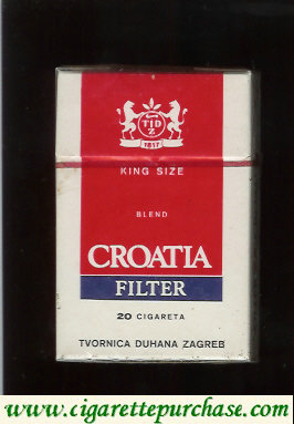 Croatia Filter cigarettes king size