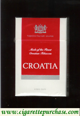 Croatia cigarettes