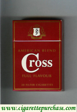 Cross cigarettes American Blend Full Flavour