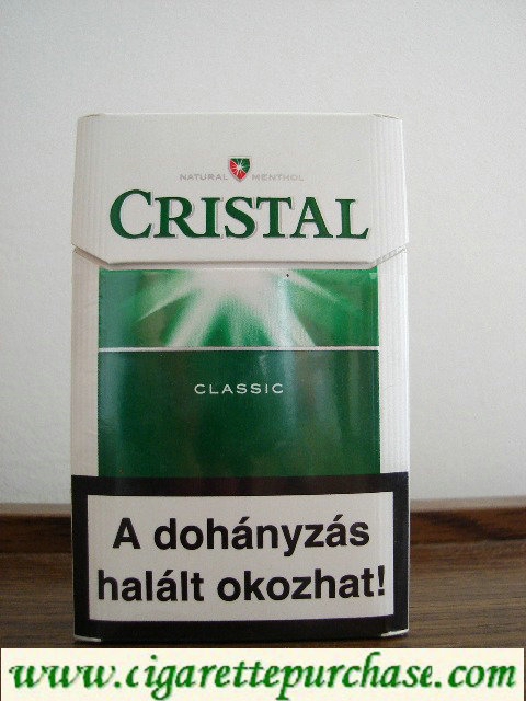 Crystal Classic cigarettes