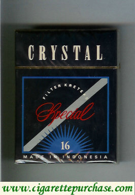 crystal Special cigarettes