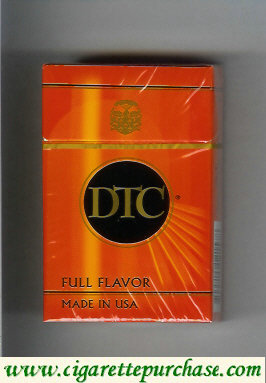 Discount DTC Full Flavor cigarettes hard box