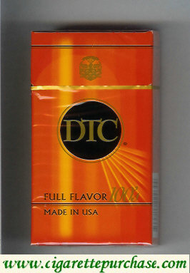 Discount DTC Full Flavor 100s cigarettes hard box