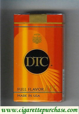 Discount DTC Full Flavor 100s cigarettes soft box