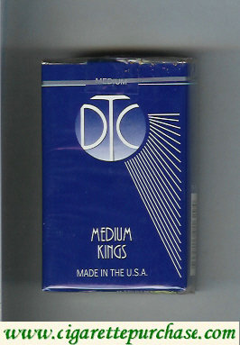 Discount DTC Medium Kings cigarettes soft box