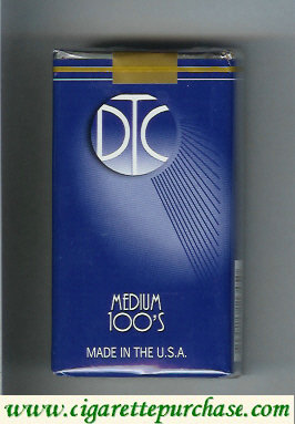 Discount DTC Medium 100s cigarettes soft box