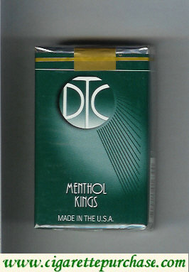 Discount DTC Menthol Kings cigarettes soft box