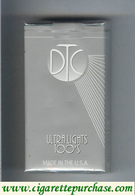 Discount DTC Ultra Lights 100s cigarettes soft box