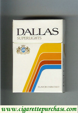 Discount Dallas Superlights cigarettes hard box