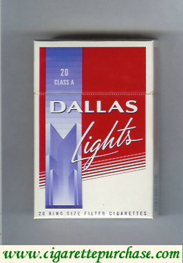 Discount Dallas Lights cigarettes hard box
