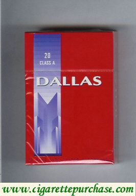 Discount Dallas 20 Class A cigarettes hard box