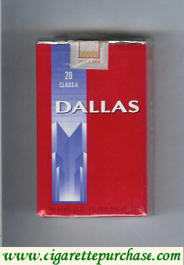 Discount Dallas 21 Class A cigarettes soft box