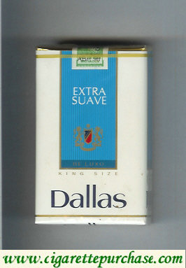 Discount Dallas De Luxo Extra Suave cigarettes soft box