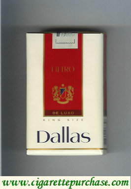 Discount Dallas De Luxo Filtro cigarettes soft box