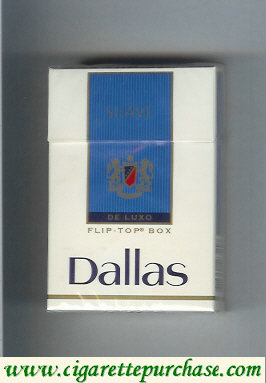Discount Dallas De Luxo Suave cigarettes hard box
